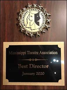 Best Director Award, presented to Gabe Smith, MTA 2020