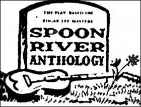 Logo for Spoon River Anthology