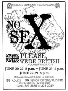 No Sex, Please, We're British