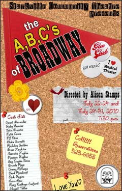 The A, B, C's of Broadway - Summer Msucial Revue